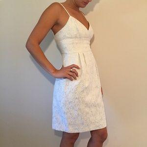 BCBG MAXAZRIA White Cocktail Dress